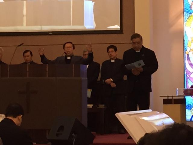 Rev Lu's Funeral